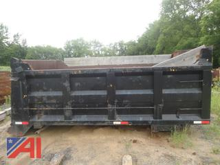 14' Dump Box with Cylinders