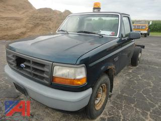 1997 Ford F350 XL Cab & Chassis