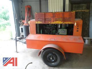 1982 Leroy 125 Trailered Air Compressor