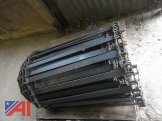 28' Sander Conveyor Chain with Extra Length