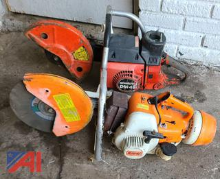 Homelite and STIHL Concrete/ Steel Cutters