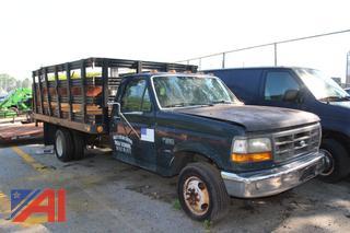 1993 Ford F350 Rack Pickup Truck