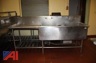 Stainless Steel Counter and Sink