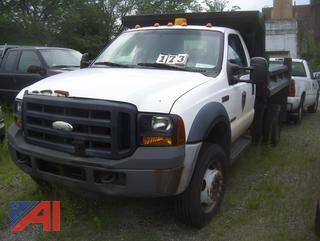 2007 Ford F550 Dump Truck