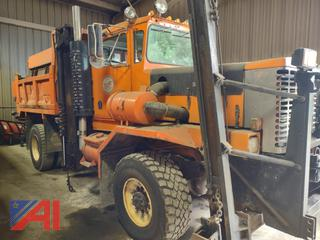 1987 Oshkosh P2527-1 Dump Truck with Plow and Wing