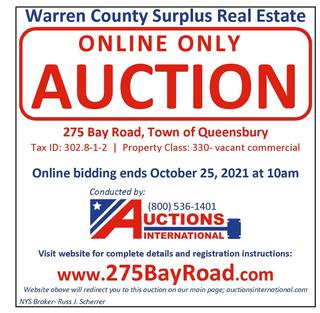 Warren County- Surplus Real Estate- NY #25985