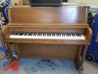 George Steck Upright Piano