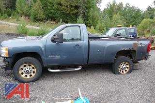 2011 Chevy Silverado 3500HD Pickup Truck