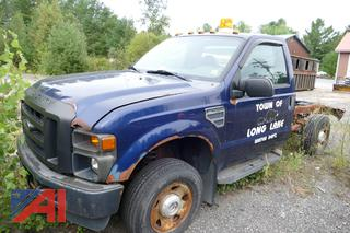 2008 Ford F250 XL Super Duty Cab and Chassis
