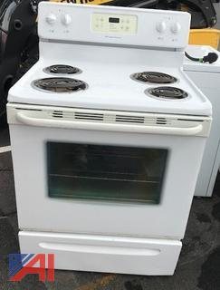 (#31, 32, 33) Frigidaire, Kenmore and Whirlpool Electric Stoves