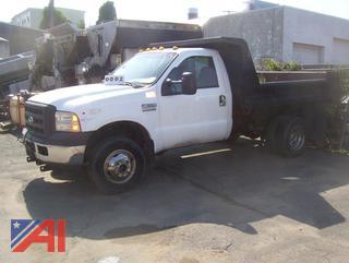 2005 Ford F350 XL Super Duty Dump Truck