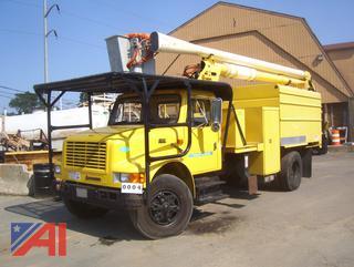 2000 International 4700 Chipper/Bucket Truck