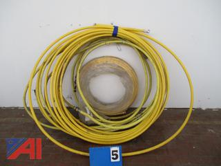 Coils of Yellow Fuel Gas Pipe