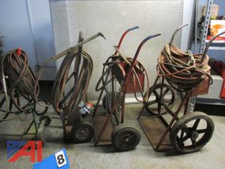 Oxy/Acetylene Torch Carts