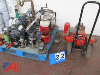 Large Lot of Pumps and More