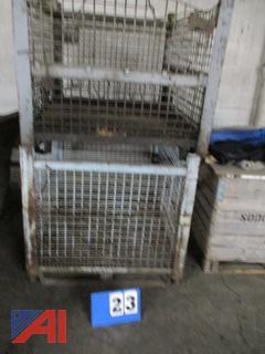 Steel Storage Baskets