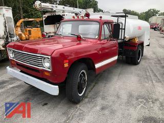 1975 International 500 Tanker Truck