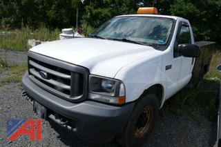 2003 Ford F250 Super Duty Pickup Truck with Utility Body