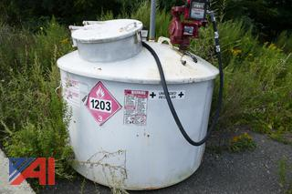 Gas Tank with Fill-Rite Fuel Pump