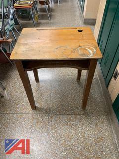 Wooden Student Desks