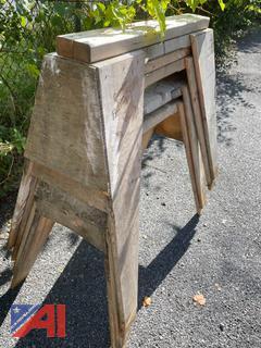 Wood Saw Horses