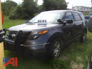 2013 Ford Explorer SUV/Police Vehicle (MPE489)