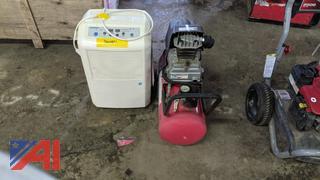 Husky Air Compressor & Fedders Humidifier