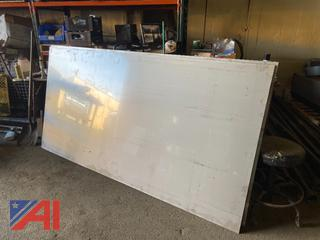 **Lot Updated** 4 x 8 Stainless Steel Sheets