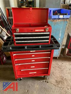 Craftsman 9 Drawer Tool Box with Contents