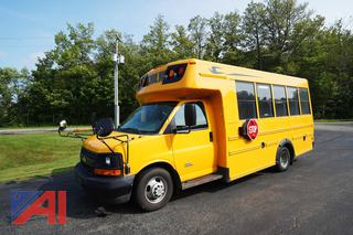2015 Chevy/Blue Bird Micro Bird Express G4500 Wheelchair Mini School Bus/195