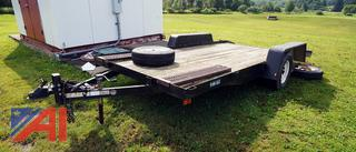 2009 H & S 14' Utility Trailer with Ramps