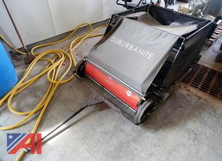 Parker Suburbanite Turf Field Towable Sweeper