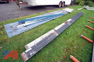 Steel Roof Panels & I-Beams