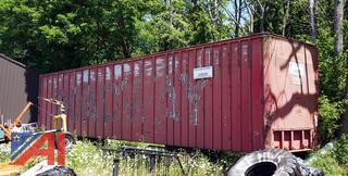 45' Aluminum Storage Semi Trailer