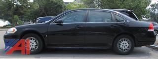 2009 Chevy Impala 4 Door/Police Vehicle