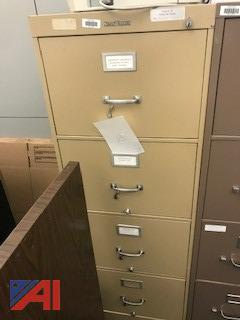 Shaw-Walker Tan 4-Drawer Legal File Cabinet