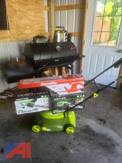 AC Units, Scotts Lawnmower, Queen Bed and Much More
