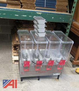 4-Pod Cecilware FrigoDrink Fountain Machine