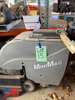(#15) Tomcat MiniMag 26-D Floor Scrubber