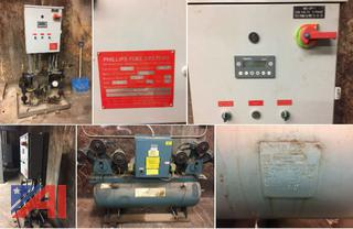 (#4) Furnas 3 Phase Air Compressor & Phillips DP-3 Fuel System