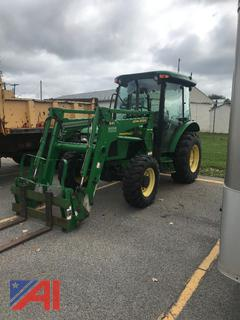 2003 John Deere 5420 Tractor with Forks