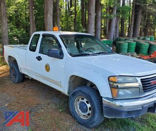 2006 GMC Canyon Extended Cab Pickup Truck