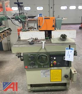 (#4) SCMI T110 i Tilting Arbor Shaper