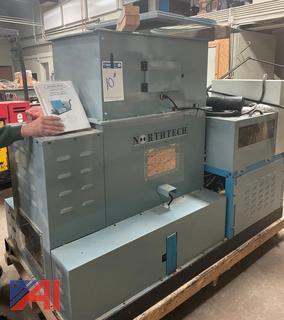 (#10) 2008 Northtech Briquette Press Machine, SF-FP1000P