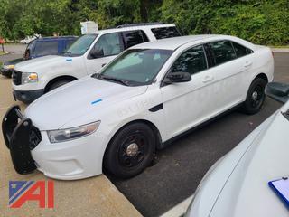 (#2) 2014 Ford Taurus 4 Door/Police Vehicle