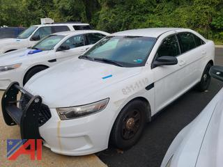(#3) 2014 Ford Taurus 4 Door/Police Vehicle