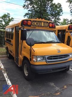 2001 Ford E350 Super Duty Mini School Bus