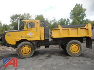 1971 Walters FCBS Ballast Box Snow Plow Truck