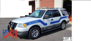 2006 Ford Expedition SUV Police Vehicle