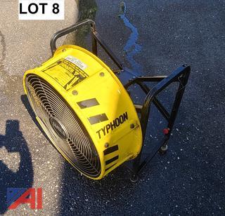 Typhoon Gas High Pressure Ventilation Fans